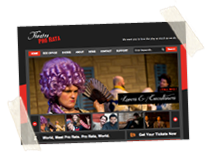Theatre Pro Rata Wordpress Website
